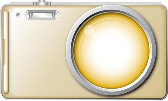 Digital camera 2 (Gold)