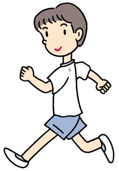Running. 2