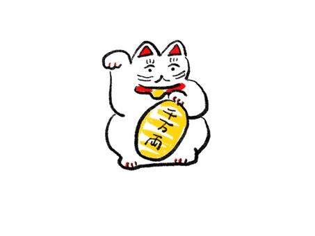 Beckoning cat