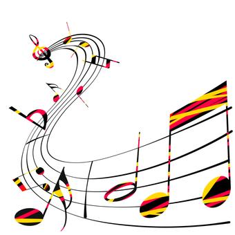 Musical note design