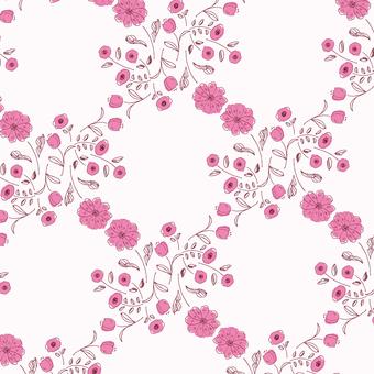 【圖案】手繪花卉3