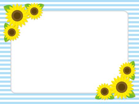 Sunflower frame-3
