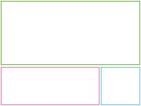 Three types of frames