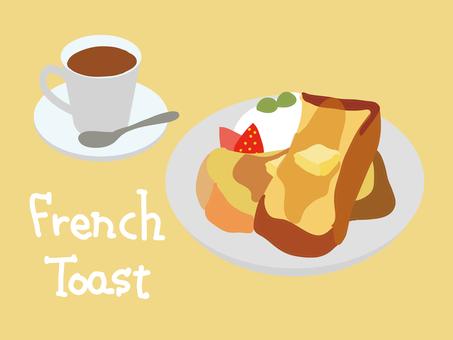French toast tea set