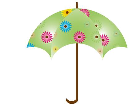 Floral umbrella 4