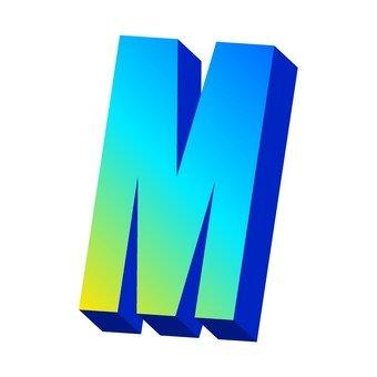 알파벳 M