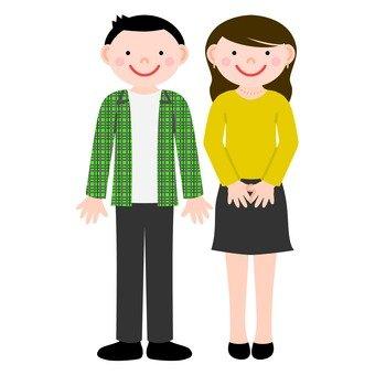 man&woman
