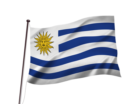 Uruguay flag image