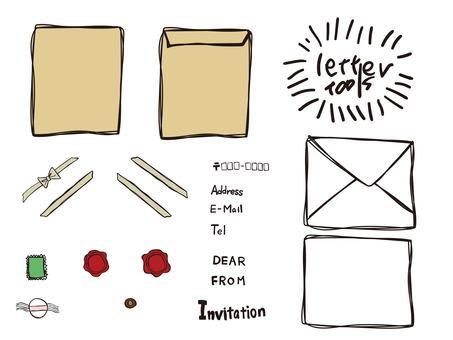 Handwritten letter tool