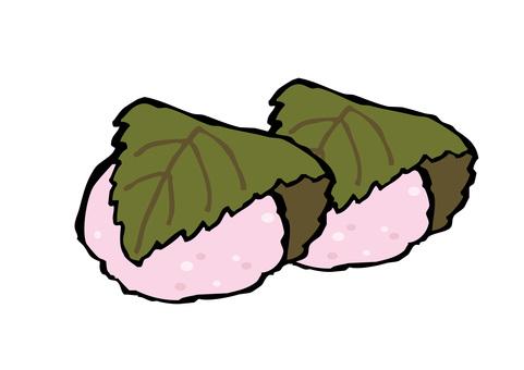 Sakura mochi 2