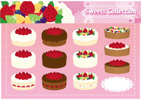 Sweets material 02