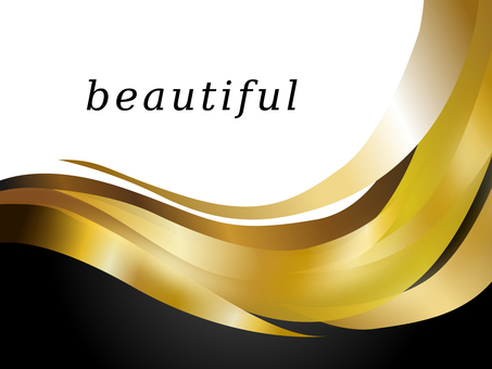 Beauty Material Wave Gold