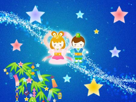 Tanabata background wallpaper