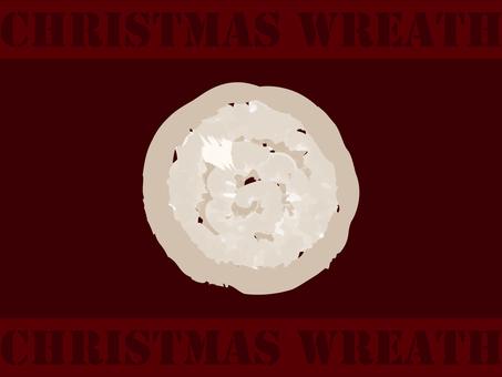 【クリスマス】カラーボール白