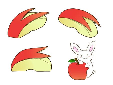 Rabbit apple