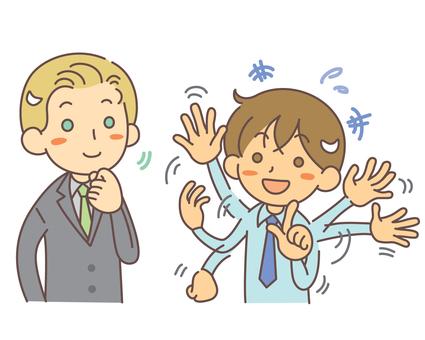 Conversation Foreign men and Japanese men 4