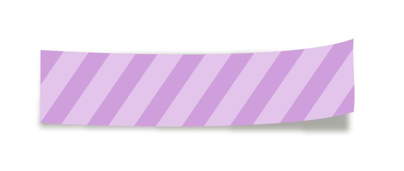 Masking tape <Purple>