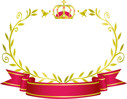 Crown and olive frame 3