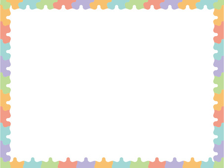 Colorful message card 1