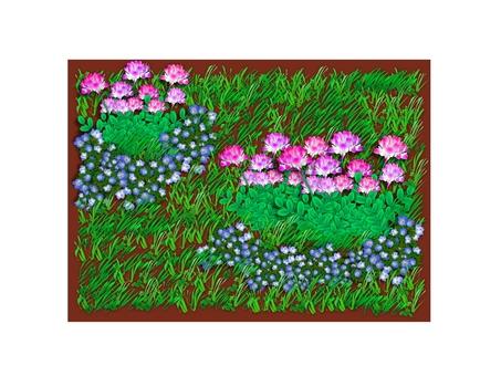 Round grass (1703)