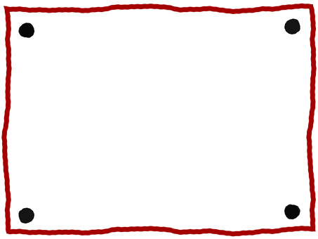 Handwritten frame