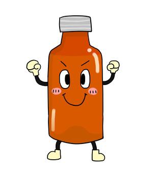 Nutrition drink bottle