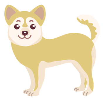 Dog 01 yellow