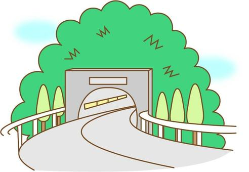 Landscape tunnel