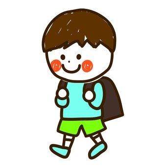 Elementary school boy