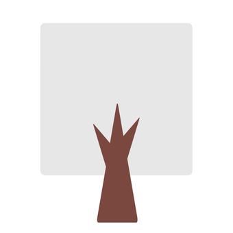 Square tree