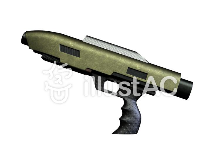 SF世界の銃(GUN)のイラスト