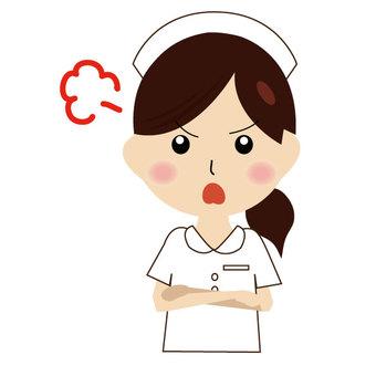 Nurse gets mad