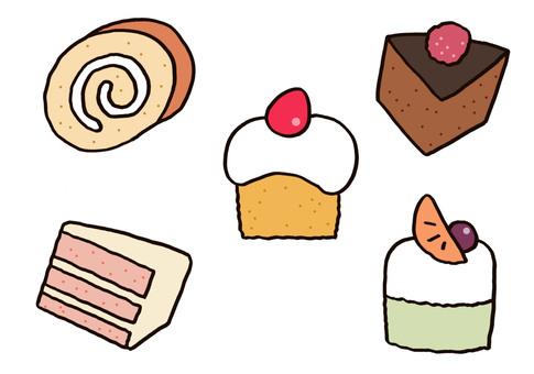 ケーキ 色々