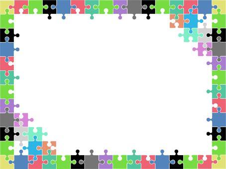 퍼즐의 프레임입니다.