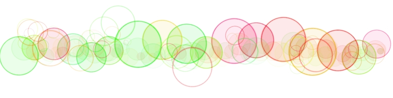 Round colorful line