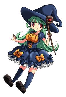마녀 (녹색 머리)