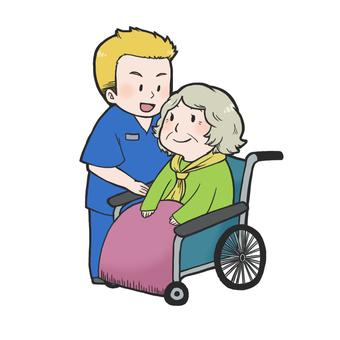 Caregiver and grandmother