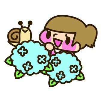 Rainy season - girls