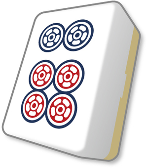 Mahjong bowl pin