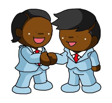Handshake Black