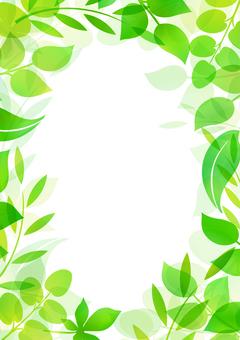 Fresh green material 120