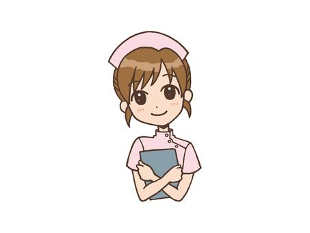 간호사 미소