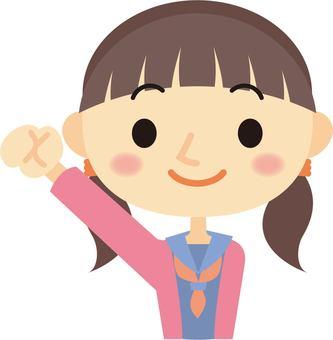Girls student