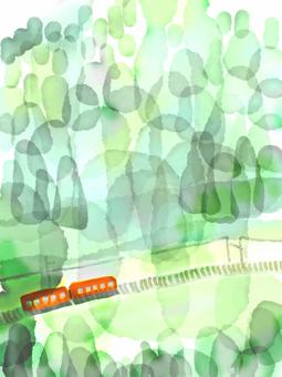 Landscape illustration 3