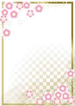 New Year's Pattern Ume 26
