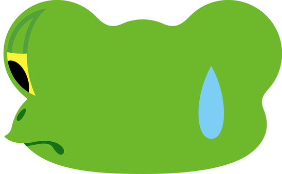 Frog facial expressions