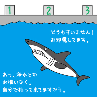 Recently the sea is so dangerous ...