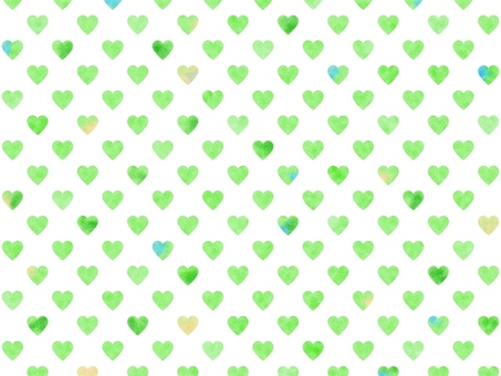 Heart pattern background watercolor 004