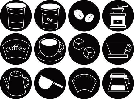 Drip coffee set