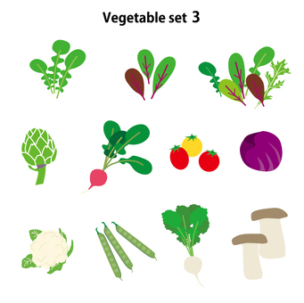 Vegetable set 3